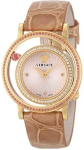 "1a86a1e3bf3a Pretty Watches For Ladies front view of Versace ""Venus"" Women s Watch  VDA060014"